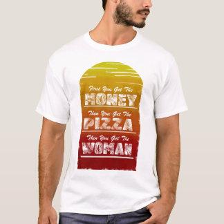 Camiseta Obtenha a pizza