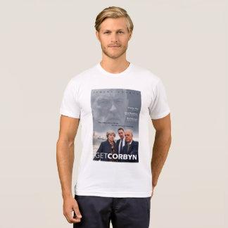Camiseta Obtenha o branco de Corbyn - de Tishirt