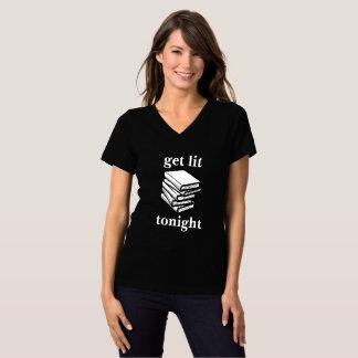 Camiseta Obtenha o Lit… hoje à noite (os livros)