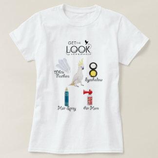 Camiseta Obtenha o olhar - edição do Cockatoo