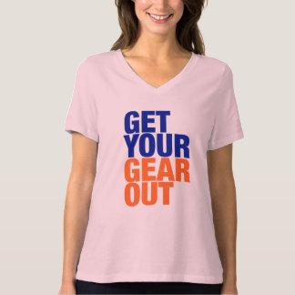 """Camiseta """"Obtenha o T das suas mulheres da engrenagem para"""