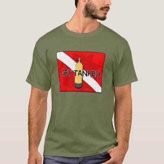 Camiseta Obtenha o t-shirt do MERGULHADOR do tanque