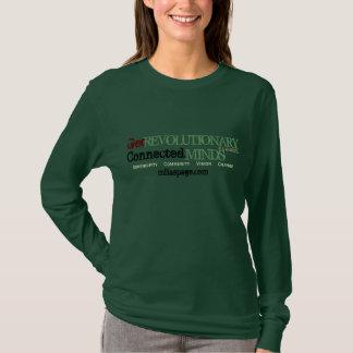 Camiseta Obtenha revolucionário, seja inspirado (a opção do