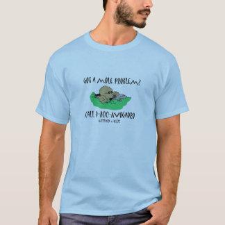 Camiseta Obteve um problema da toupeira?