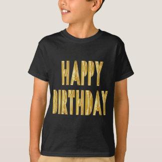 Camiseta ocasião do partido da celebração do feliz