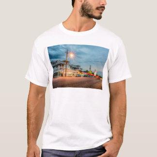 Camiseta oceano de Geórgia do savana da cidade da ilha do