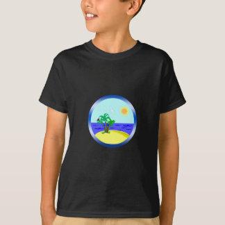 Camiseta Oceano e luz solar