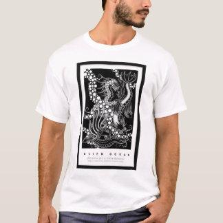 Camiseta Oceano estrangeiro por Cathy Buburuz