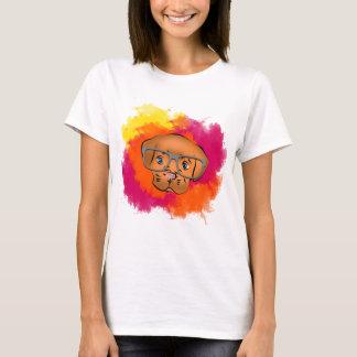 Camiseta Oculos bonitos do cão