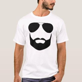 Camiseta Óculos de sol da barba