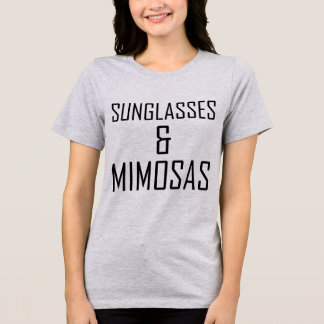 Camiseta Óculos de sol e Mimosas do t-shirt de Tumblr