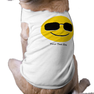 Camiseta Óculos de sol legal Emoji (customizável)