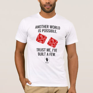 Camiseta Ocupe o jogo - um outro mundo é t-shirt possível
