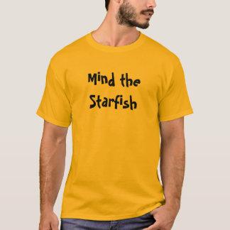 Camiseta Ocupe-se da estrela do mar