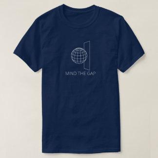 Camiseta Ocupe-se de Gap (escuro)