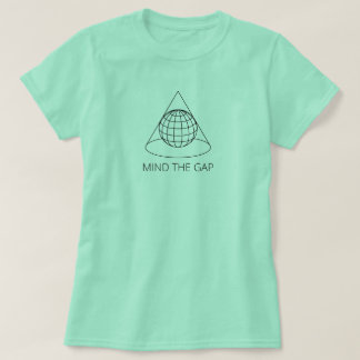 Camiseta Ocupe-se de Gap (projeção cónica - a luz)