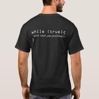 Camiseta Ocupe-se de seu próprio negócio
