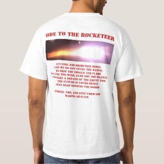 Camiseta Ode a um rocketeer