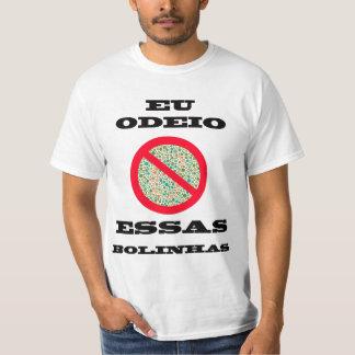 Camiseta Odeio essas Bolinhas