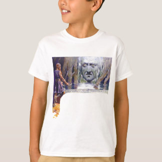 Camiseta Odin na frente de Mimir