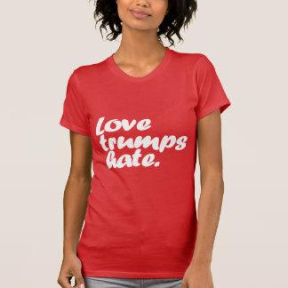 Camiseta Ódio dos trunfos do amor