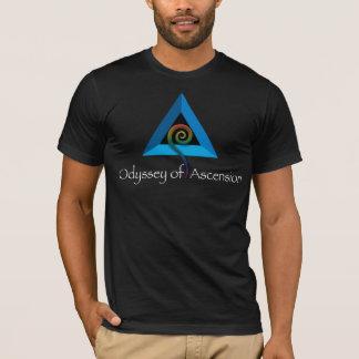 Camiseta Odisseia da ascensão - homens T - preto