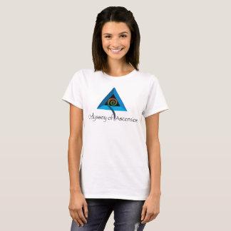 Camiseta Odisseia da ascensão - o T das mulheres - branco