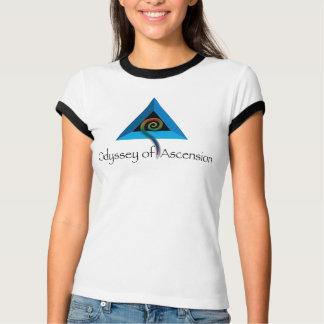 Camiseta Odisseia punho branco/preto da ascensão -