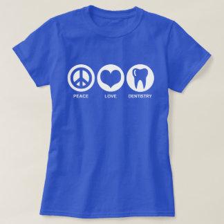 Camiseta Odontologia do amor da paz