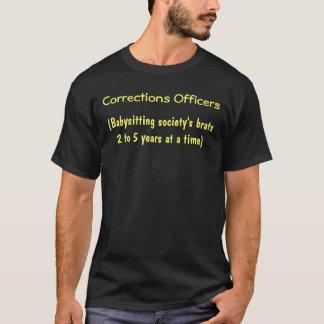 Camiseta oficiais de correções