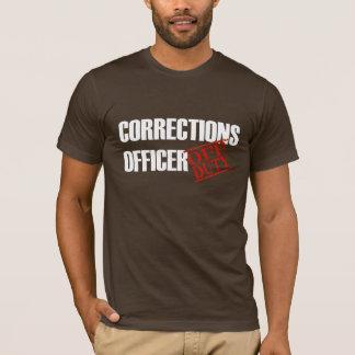 Camiseta Oficial de correções fora de serviço