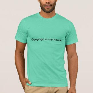 Camiseta Ogopogo é meu homie.