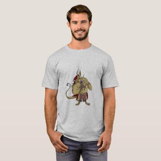 Camiseta Ogre e petisco