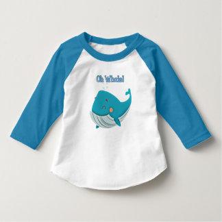 Camiseta Oh baleia