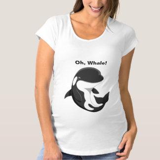 Camiseta Oh baleia de assassino bonito da orca do bebê da
