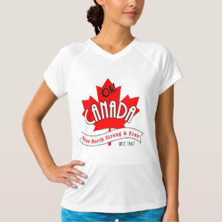 Camiseta Oh Canadá! Norte verdadeiro forte e livre