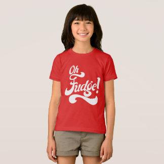 """Camiseta """"Oh Fudge! """""""
