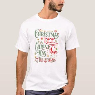 Camiseta Oh T engraçado ID463 do Natal