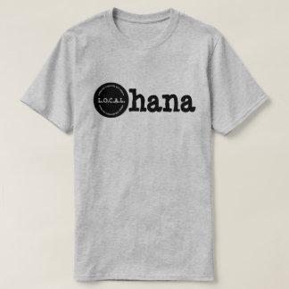 Camiseta Ohana L.O.C.A.L.Loving nossos comunidade e estilo