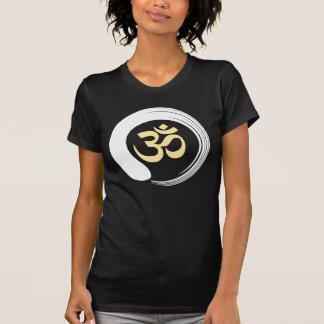 Camiseta Ohm Aum OM da oração da meditação do círculo do