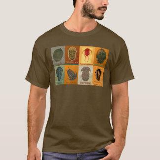 Camiseta Oito fóssil Trilobites