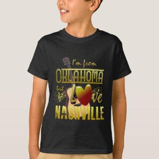 Camiseta Oklahoma ama o t-shirt dos miúdos de Nashville