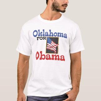Camiseta Oklahoma para t-shirt de Obama