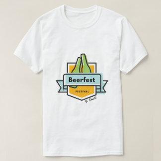 Camiseta Oktoberfest Beerfest. Adicione o nome