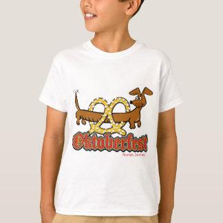 Camiseta Oktoberfest-Desenho-Pretzel-Doxie