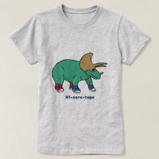Camiseta Olá!-cera-partes superiores