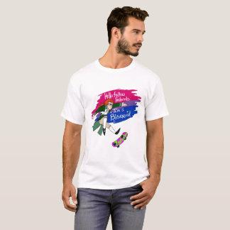 Camiseta Olá! Federals companheiro Im um Bisexual