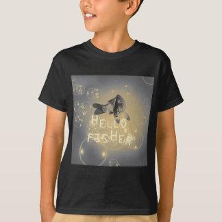Camiseta Olá! fisher