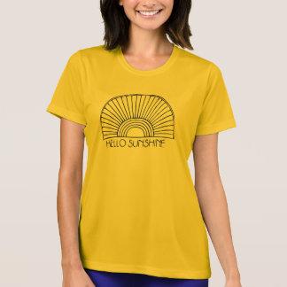 Camiseta Olá! luz do sol
