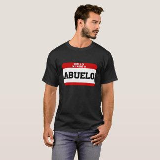 Camiseta Olá! meu nome é Abuelo